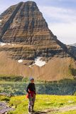 Hike in Glacier Stock Images