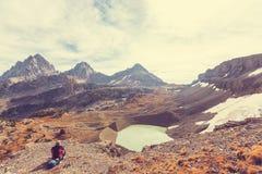 Hike in Grand Teton Stock Image