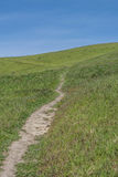 Hike Here Stock Photo