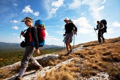 Hike Royalty Free Stock Image