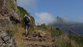 Hike to Pico Grande , Madeira Royalty Free Stock Photo