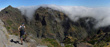 On the hike , Madeira , Portugal Royalty Free Stock Photography
