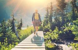 Hike Stock Image