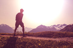 Hike Royalty Free Stock Photo