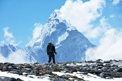 Hike in Himalayan Stock Photos