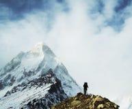 Hike in Himalayan1 Stock Photo