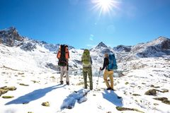 Hike in Kackar Royalty Free Stock Images