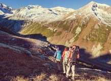 Hike in Kackar Royalty Free Stock Image