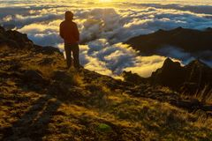 Hike in Madeira Royalty Free Stock Photo