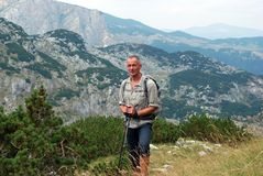Hike in Montenegro Stock Photo