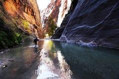 Hike na garganta Fotografia de Stock Royalty Free