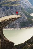 Hike in Norway Stock Photography