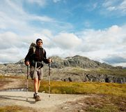 Hike in Norway Stock Photos