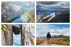 Hike in Norway Royalty Free Stock Photography