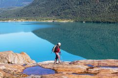 Hike in Norway Stock Images