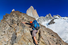 Hike in Patagonia Stock Photos