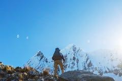 Hike in Peru Stock Photos