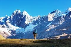 Hike in Peru Stock Photo