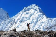 Hike in Peru Royalty Free Stock Photos