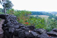 Hike. A pretty view I saw while on a hike Royalty Free Stock Image