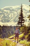 Hike in Rainier Royalty Free Stock Images
