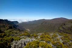 Hike in Reunion Island Royalty Free Stock Photo