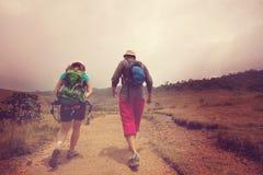 Hike on Sri Lanka Royalty Free Stock Images