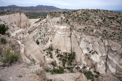 Hike through Tent Rocks National Monument Royalty Free Stock Photos