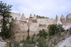 Hike through Tent Rocks National Monument Royalty Free Stock Photo