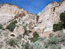 Hike through Tent Rocks National Monument Stock Image