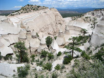 Hike through Tent Rocks National Monument Royalty Free Stock Images