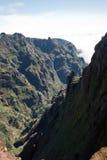Hike to Pico do Arieiro, mountain in Madeira Stock Photography