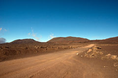 Hike to the Piton de la Fournaise Royalty Free Stock Photo