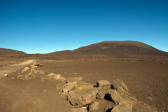 Hike to the Piton de la Fournaise Royalty Free Stock Photos