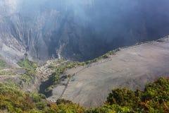 Hike to volcano Royalty Free Stock Photos