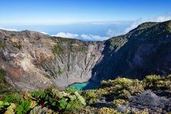 Hike to volcano Royalty Free Stock Photo