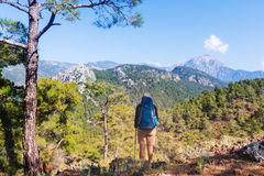 Hike in Turkey Stock Photography