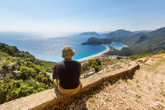 Hike in Turkey Royalty Free Stock Photos