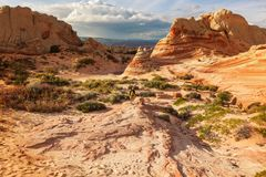 Hike in Utah Royalty Free Stock Images