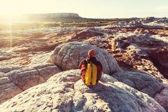 Hike in Utah Stock Photography