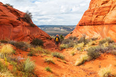 Hike in Utah Stock Photo