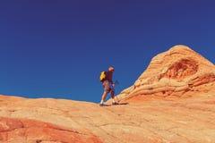Hike in Utah Stock Images