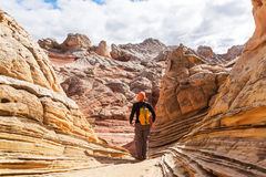 Hike in Utah Stock Photos