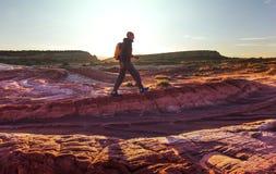 Hike in Utah Royalty Free Stock Images