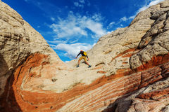 Hike in Utah Royalty Free Stock Photography