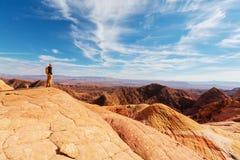 Hike in Utah Royalty Free Stock Photos