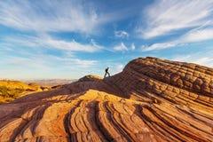Hike in Utah Stock Image