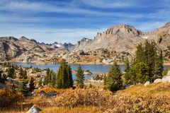 Wind river range stock photography