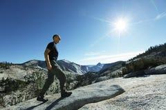 Hike in Yosemite Royalty Free Stock Photo