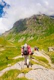 hiker группы Стоковая Фотография RF